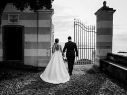 Una passeggiata con gli sposi a Sestri Levante