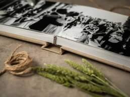 Dettaglio della rilegatura di Album di Matrimonio tipologia Fotolibro Semplice